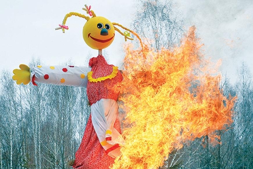 Правда ли, что раньше на Масленицу сжигали человека?