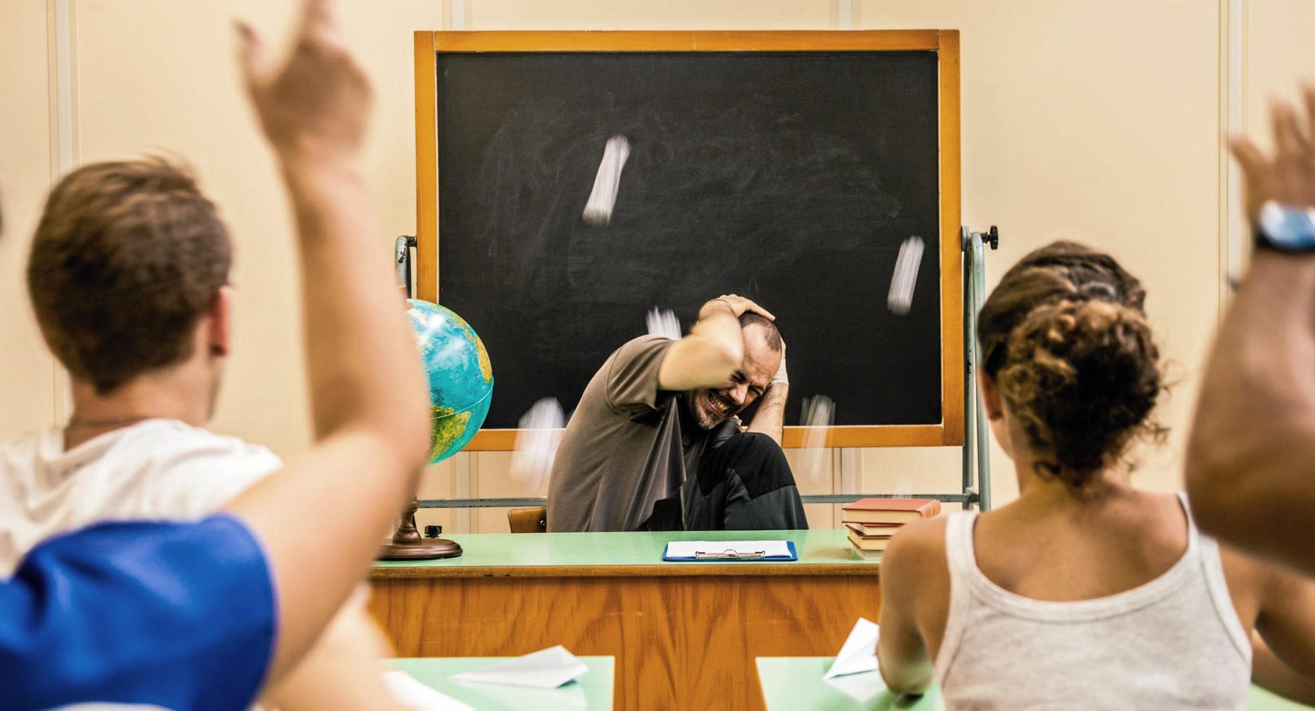 Родители заплатит штраф, если их ребенок оскорбил учителя