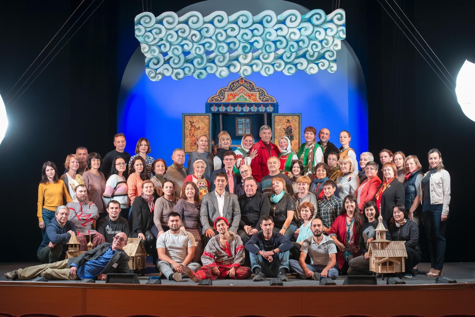 Конкурс «Мой любимый спектакль» в Башкирском государственном театре кукол
