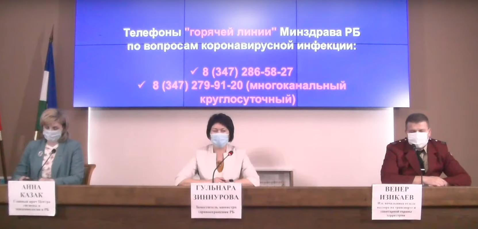 3021 подтвержденный случай COVID-19 зафиксирован в Башкортостане