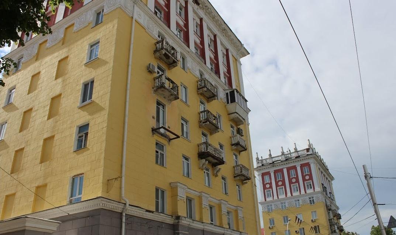 В Уфе начали реставрацию «восьмиэтажек»