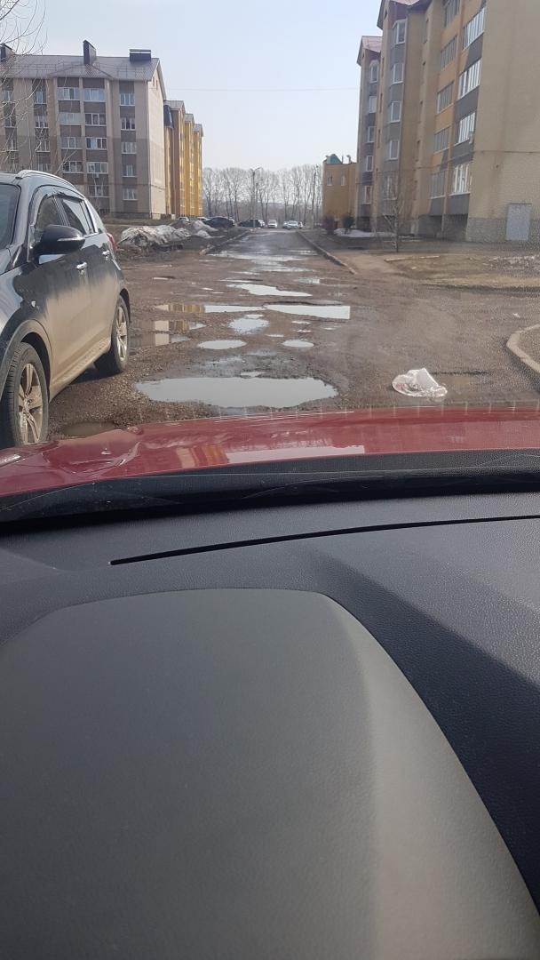 После обращения жителей в Салавате отремонтировали дорогу по улице Бекетова