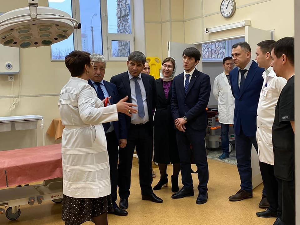 Башҡортостан һәм Чечня табиптары хеҙмәттәшлек итергә килеште