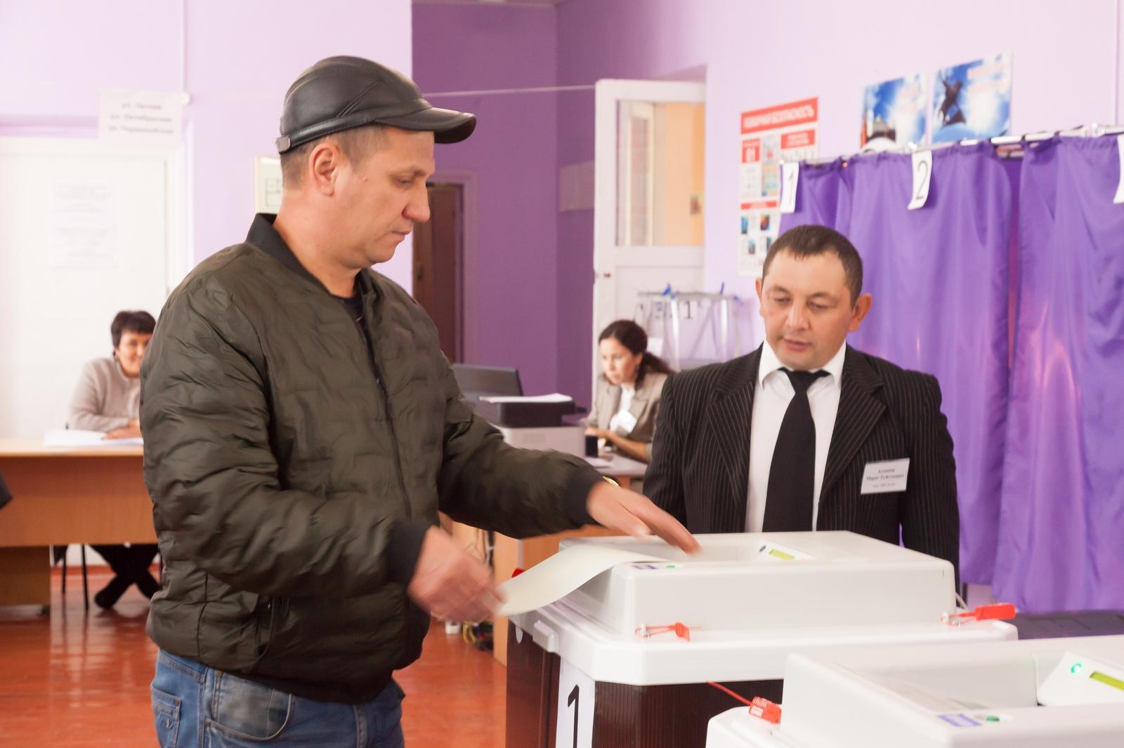 Городами-лидерами по явке избирателей стали Кумертау и Сибай