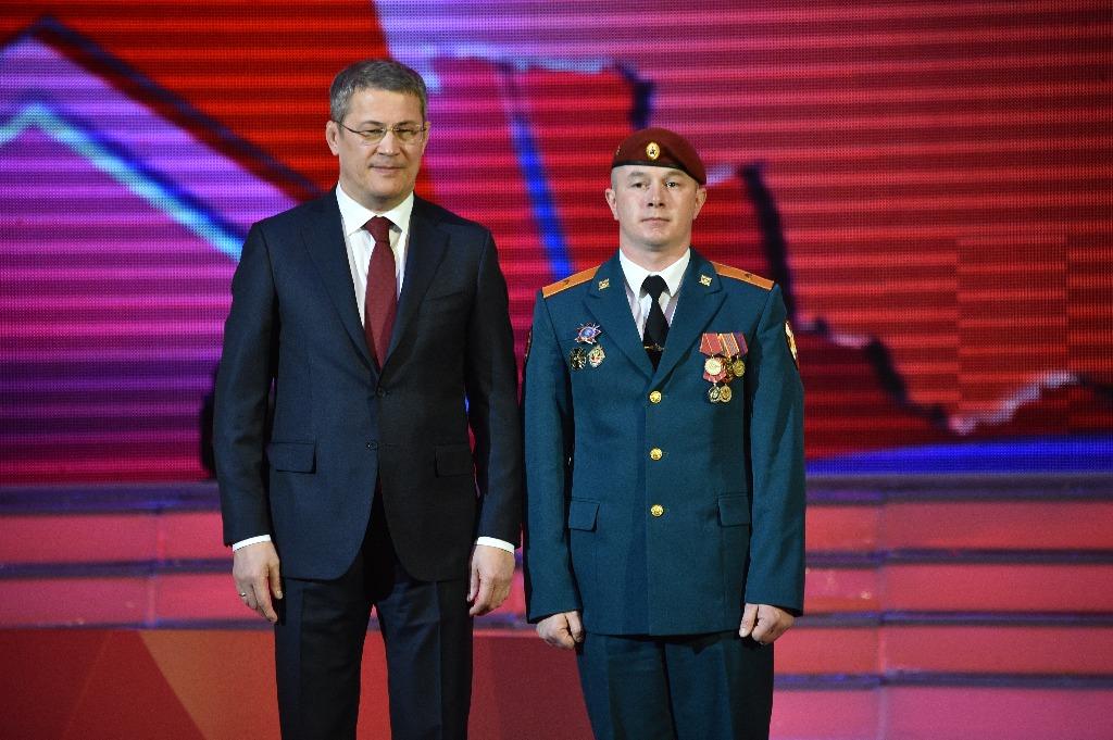 Стрелок-санитар Вадим Сафин награжден орденом генерала Шаймуратова