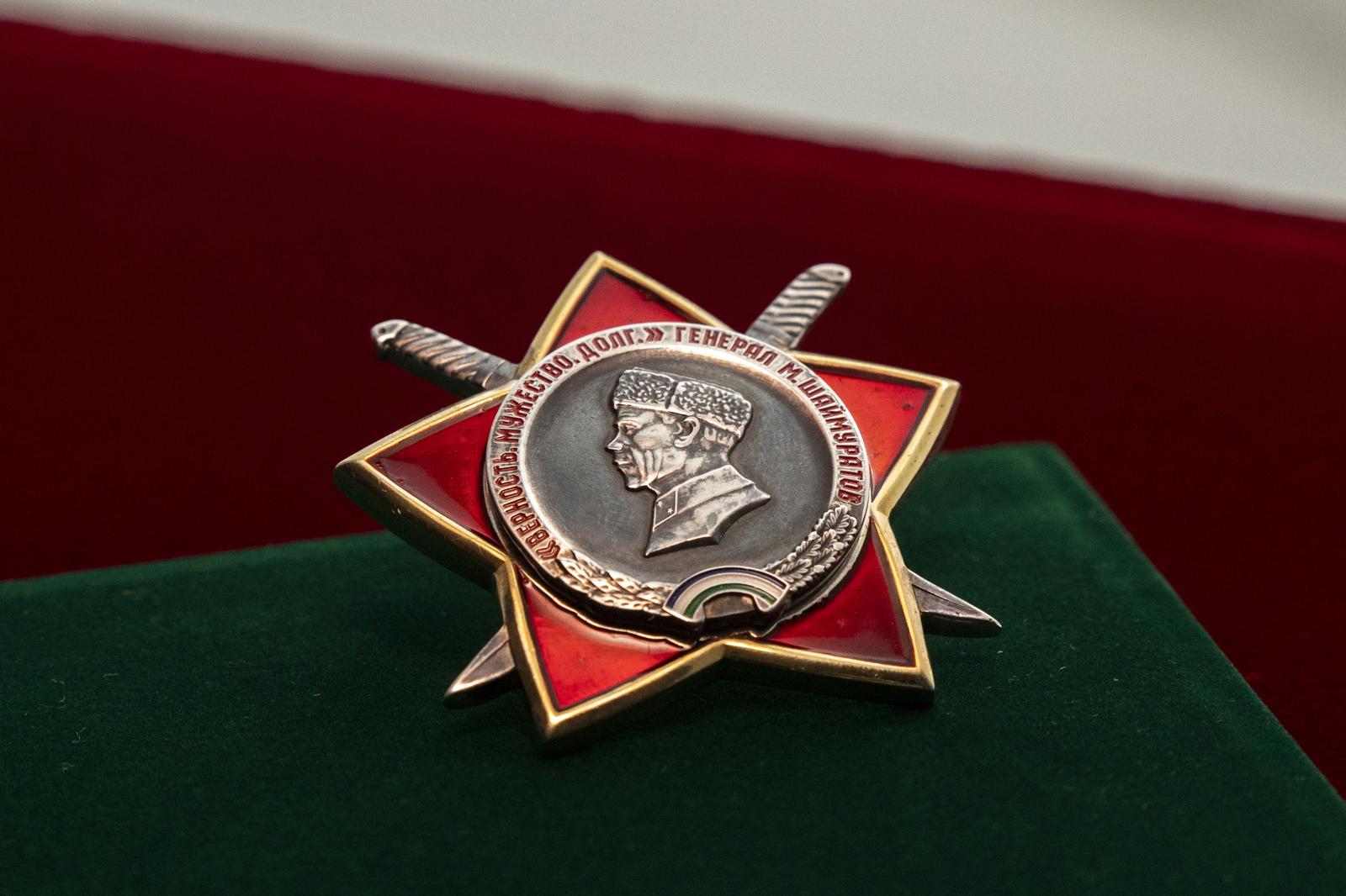 Глава Башкортостана вручил первые ордена генерала Шаймуратова
