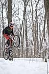 Фото №2 - Вниз по склону на велосипеде: В Уфе прошли первые зимние соревнования по даунхиллу
